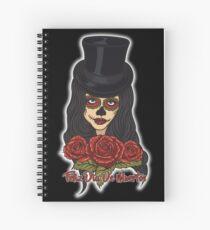 TopHat La Catrina - Dia De Los Muertos Spiral Notebook