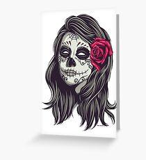 La Catrina - Dia De Los Muertos Greeting Card
