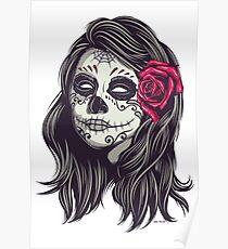 La Catrina - Dia De Los Muertos Poster