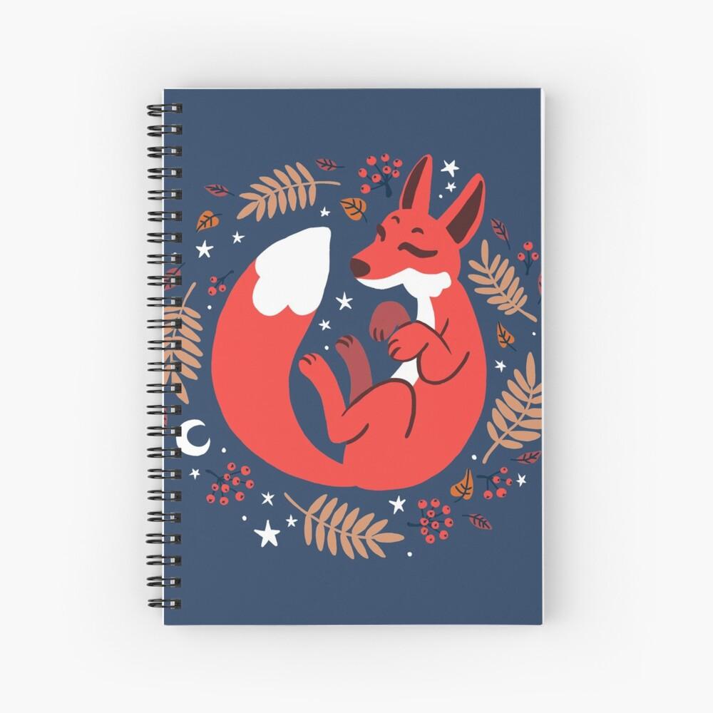 Zorro de Rowan Cuaderno de espiral