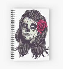 La Catrina - Dia De Los Muertos Spiral Notebook
