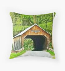 Cilly bridge Throw Pillow