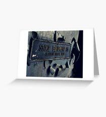 Stock Equipment Greeting Card