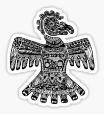 Aztec Eagle Sticker