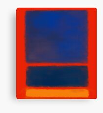 Rothko inspiriert # 7 Leinwanddruck