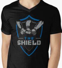 349c64714 Camiseta para hombre de cuello en v wwe el escudo