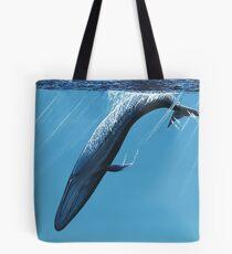 Diving Blue Tote Bag