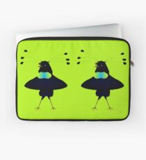 Bop the Ballerina Bird Laptop Sleeve