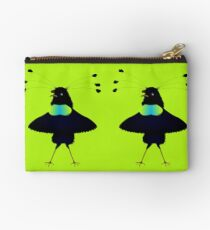 Bop the Ballerina Bird Studio Pouch