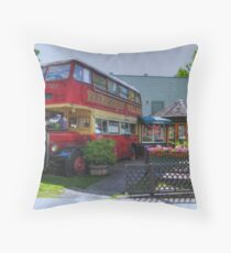 Fairhaven Expresso Throw Pillow