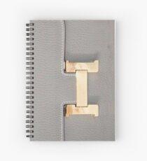 hermes patern Spiral Notebook
