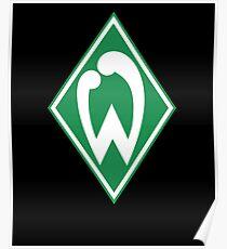 SV Werder Bremen Fußball Fussball Football Poster