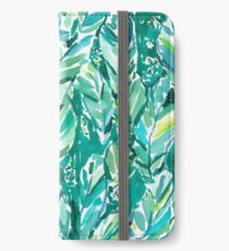 BANANENBLATT JUNGLE iPhone Flip-Case/Hülle/Klebefolie