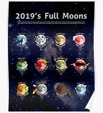 2019's Full Moons Poster
