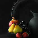 PEWTER IN BLACK by RakeshSyal