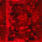 gemini red black II by markdalderup