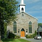 St. Andrew's Presbyterian Church, South Lancaster, Ontario. 1855. by Mike Oxley