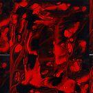 gemini red black III by markdalderup