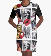 Motown Music Graphic T-Shirt Dress