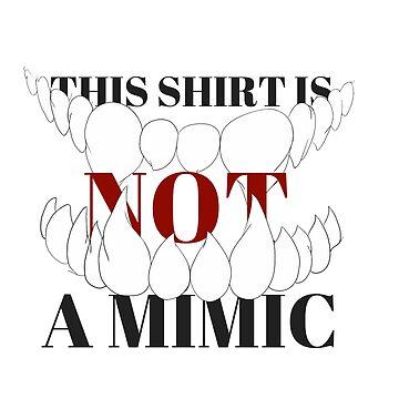 Not a Mimic by Writteninsanity