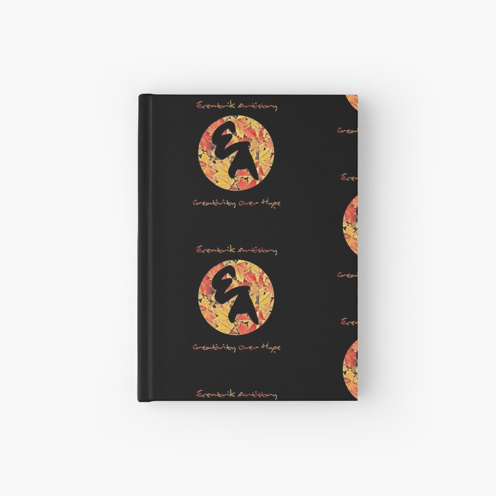 """""""Colors Of Autumn"""" Hardcover Journal"""
