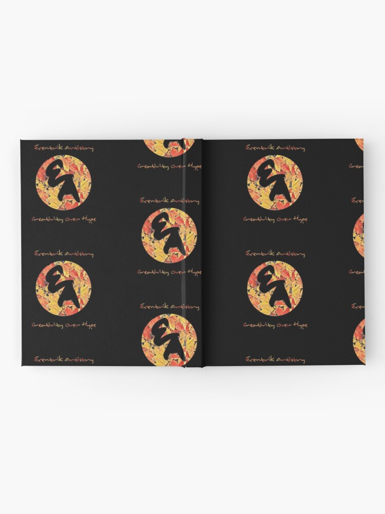 """Alternate view of """"Colors Of Autumn"""" Hardcover Journal"""