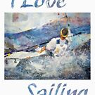 I Love Sailing by Ballet Dance-Artist