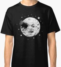 Mondgesicht - Melies Rocket Reise zum Mond Classic T-Shirt