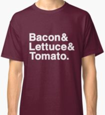 Bacon & Lettuce & Tomato (dark shirts) Classic T-Shirt