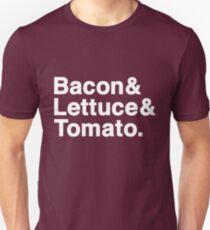 Bacon & Lettuce & Tomato (dark shirts) Unisex T-Shirt
