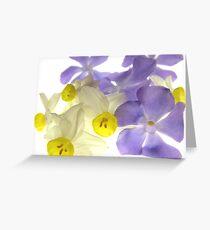 """'Spring Ballet Series - Chorus Line"""" Greeting Card"""