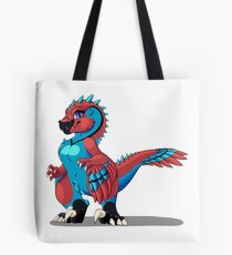 Vel The Velociraptor Tote Bag