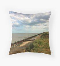 Suffolk Coastline Throw Pillow