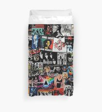 rock collage Duvet Cover