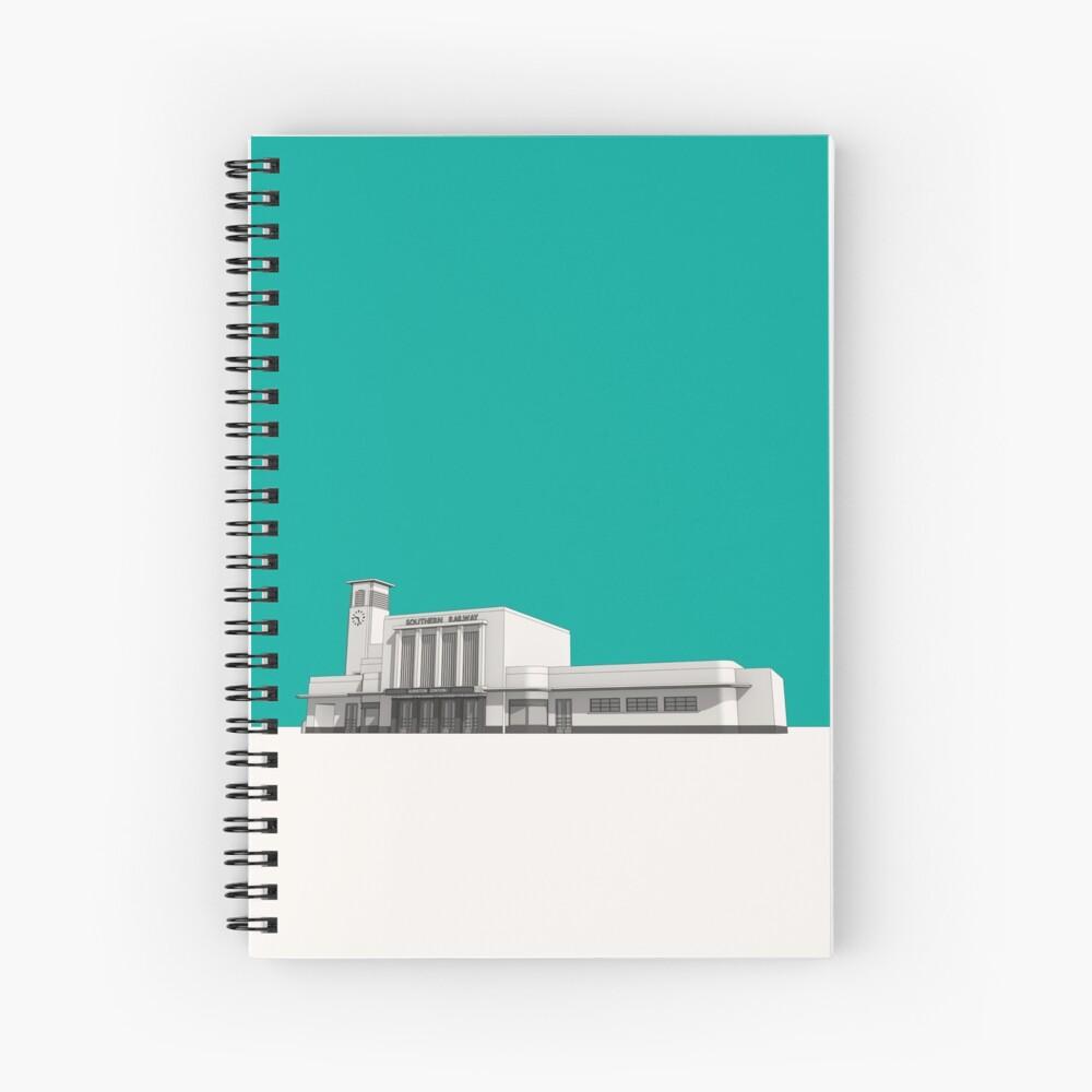 Surbiton Station Spiral Notebook