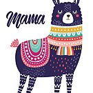 Mama Llama by scooterbaby