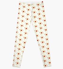 Atoms heart love positive energy Leggings
