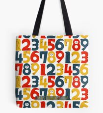 numbers 1-12   colors Tote Bag