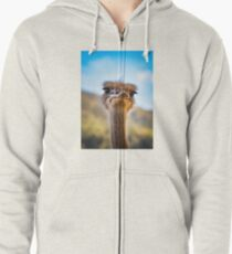 face-2-face Zipped Hoodie