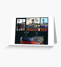 Deadliest Catch Wizard Collage Greeting Card