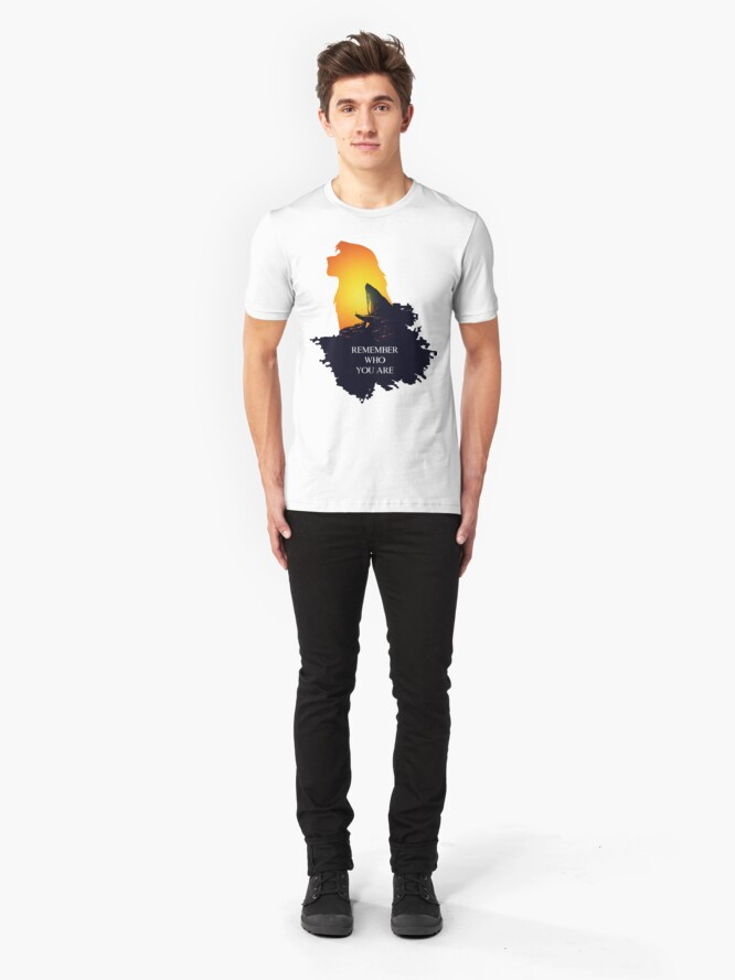 Alternative Ansicht von Ohne Titel Slim Fit T-Shirt