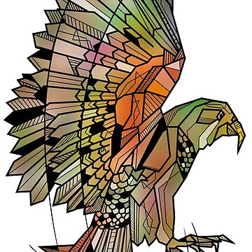 Kea New Zealand bird by piedaydesigns