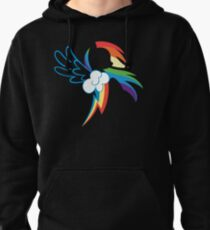 The Dash mark Pullover Hoodie