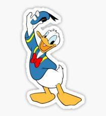 Donald Duck Sticker