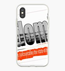 Randomicity iPhone Case