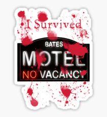 Bates Motel - I Survived! - T-shirt Sticker