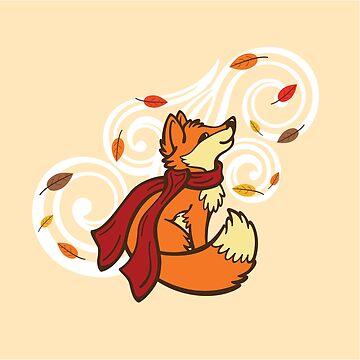 Autumn Fox by CGafford