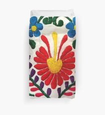 Mexican Flowers Duvet Cover