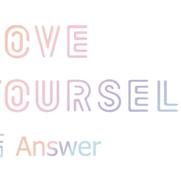 BTS - Love Yourself ' ANSWER ' by Red-One48