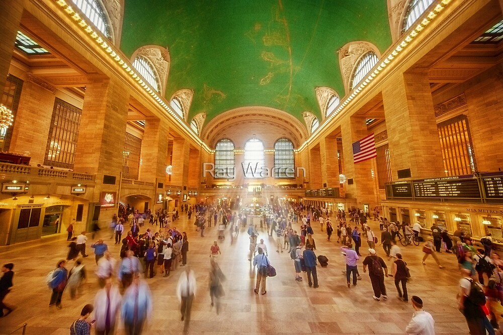 Grand Central Daylight by Ray Warren